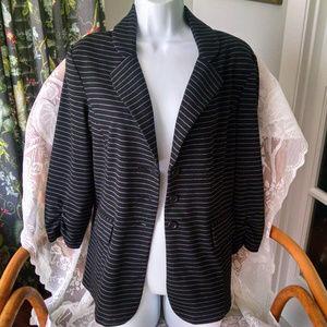 SOHO Knit Blazer Large